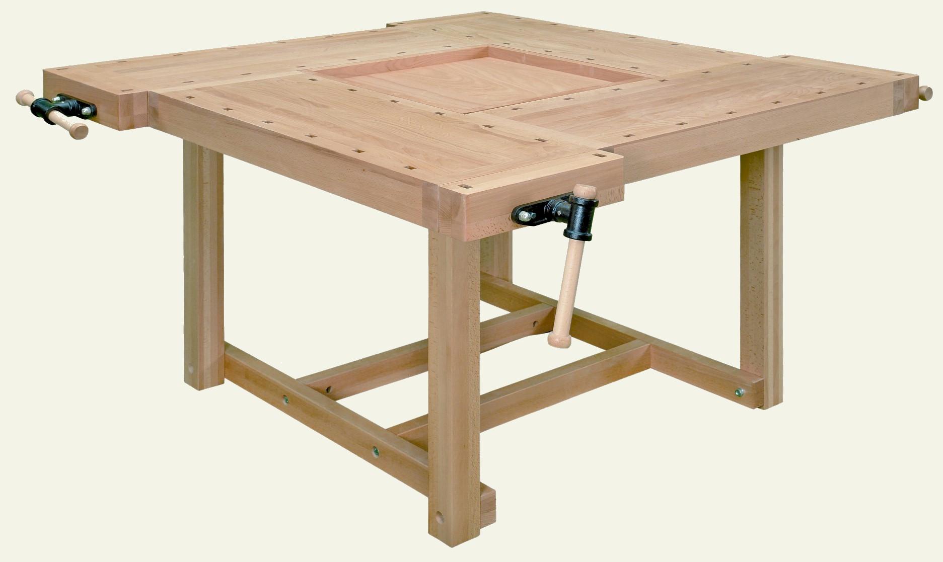 Werktafel hout